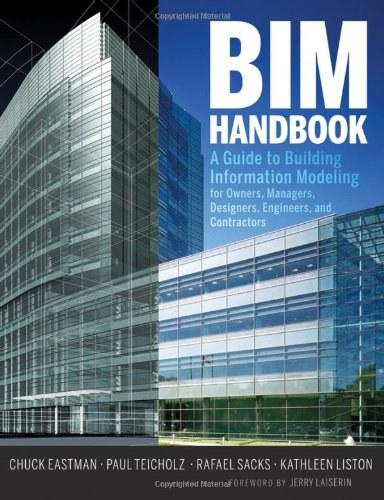 BIM Handbook BIM手册:业主、经营者、设计师、工程师与承包商建立信息建模指南 英文原版